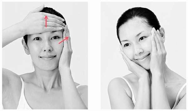 Проводить массаж для лица для похудения щек