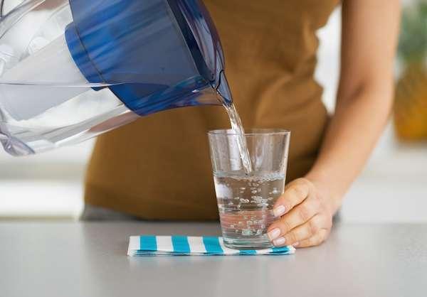 Пить воду во время диеты