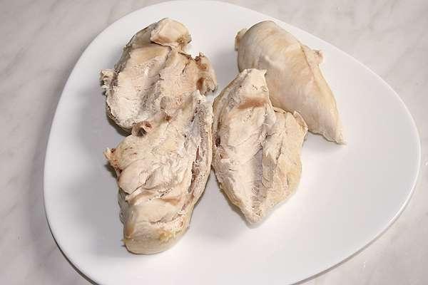 Кусочек куриной грудки