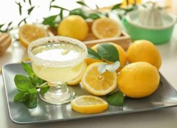 Напитки с добавлением лимона