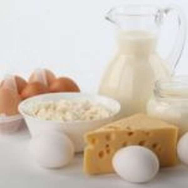 Яйца и молочные продукты