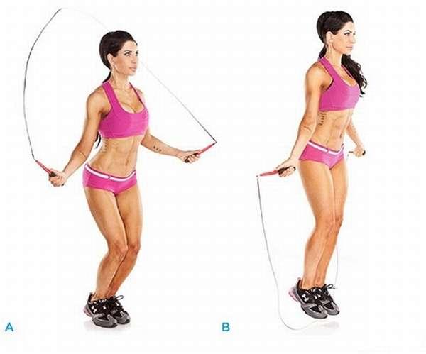 Прыжки на скакалке для икроножных мышц и похудения