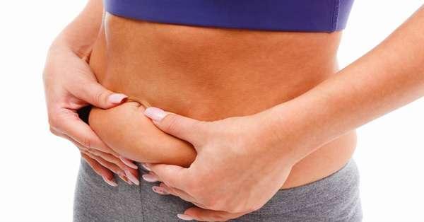 Справиться с жиром на животе
