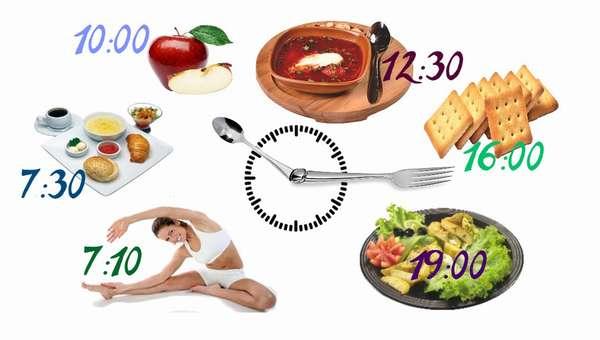 Режим питания – важный фактор