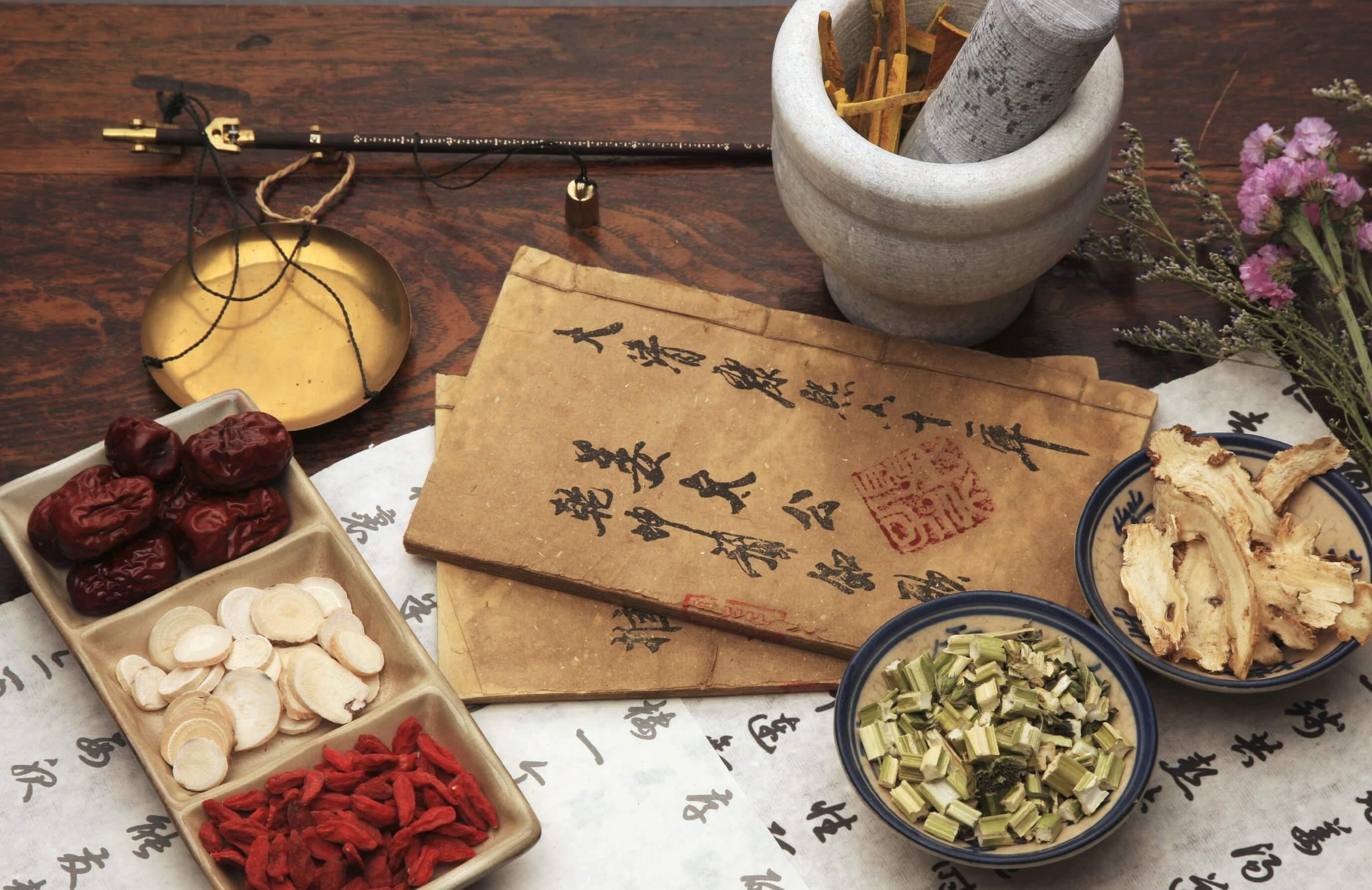 медицина китая