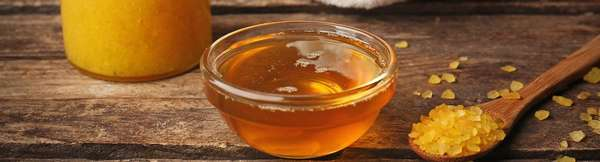 Скраб с медом
