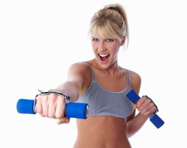 Гантели для похудения для женщин