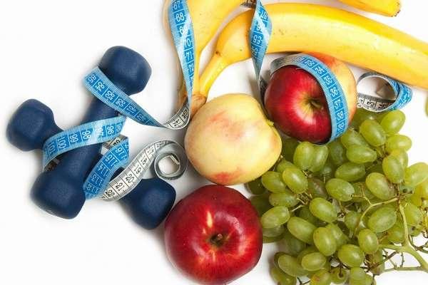 Правильное питание и физические занятия