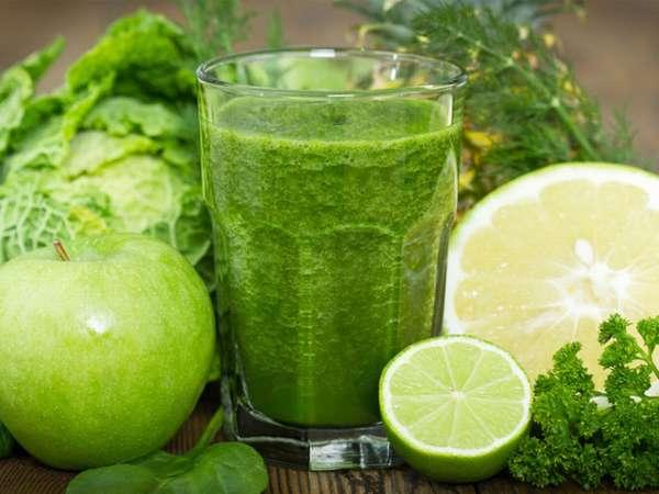 Зеленый смузи Витаминка