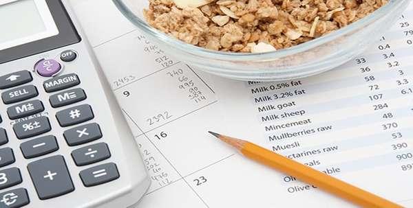 Считать потребленные в сутки килокалории