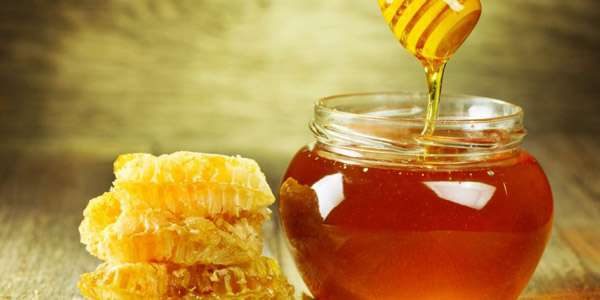 мед на столе