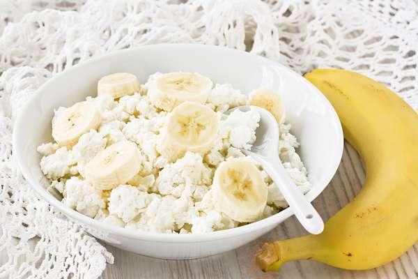 Творожно-банановая диета