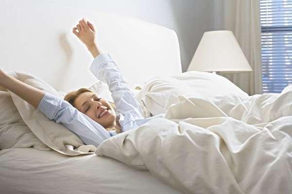 утренняя зарядка в кровати